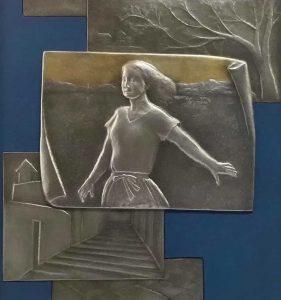 毛利和子彫金展
